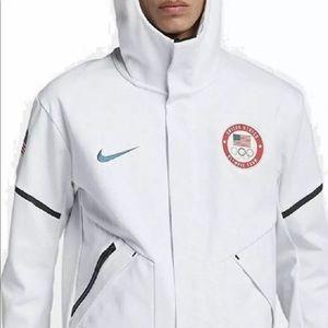 Nike US olympic team white water proof jacket XXL